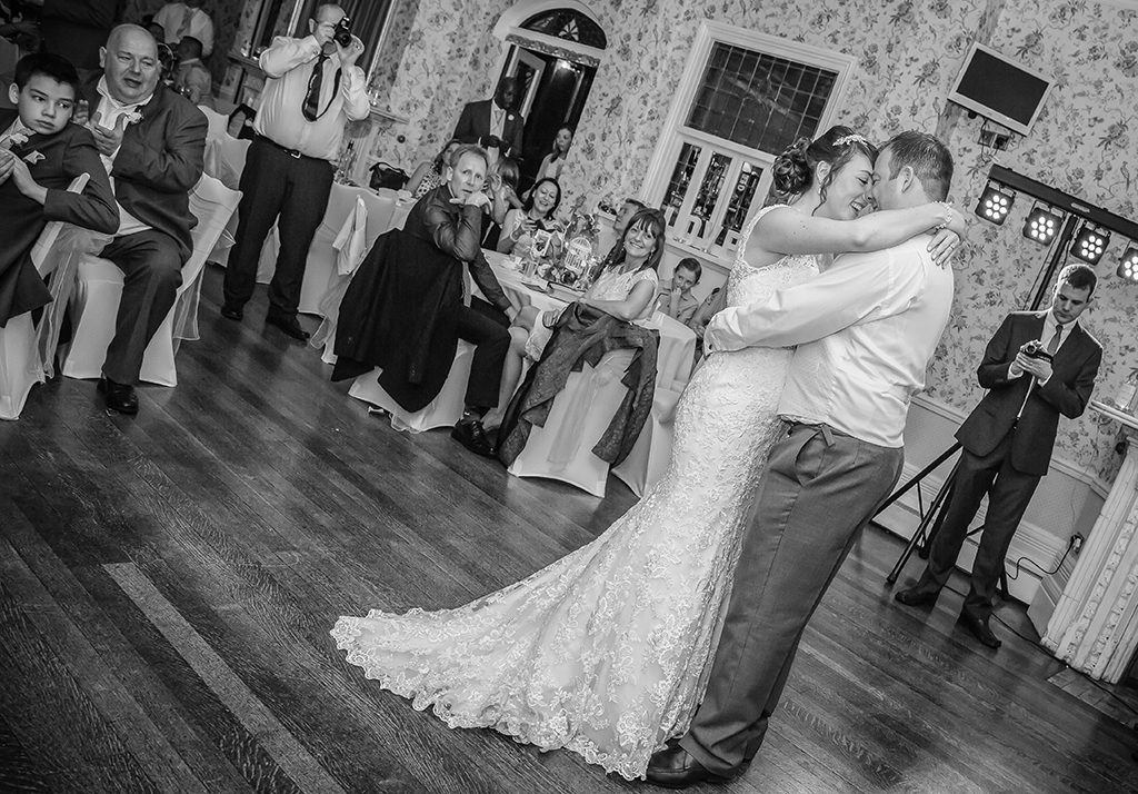 Rushpool Hall wedding first dance