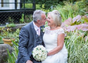horton grange wedding bride and groom