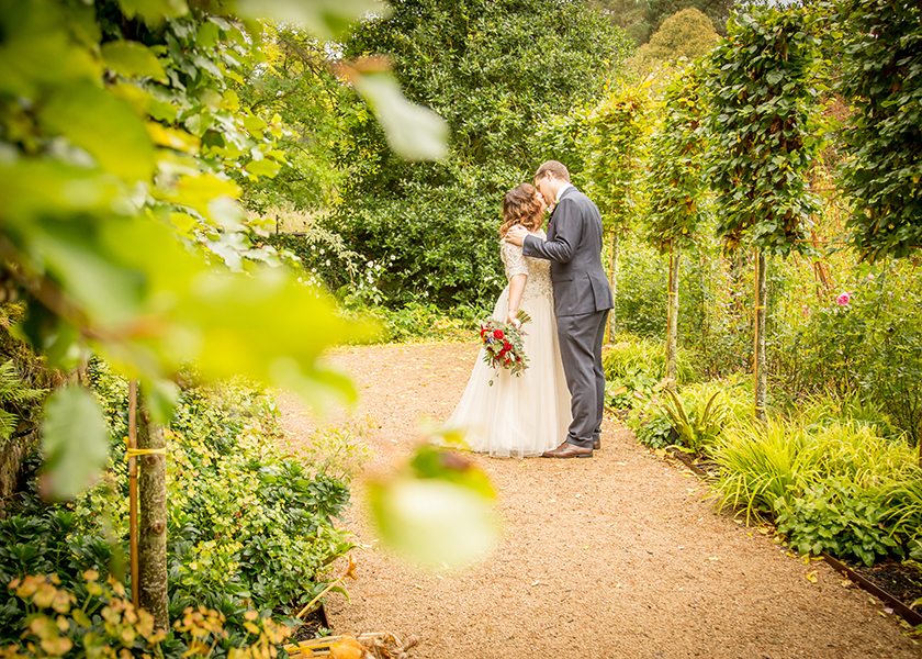 le petit chateau gardens wedding