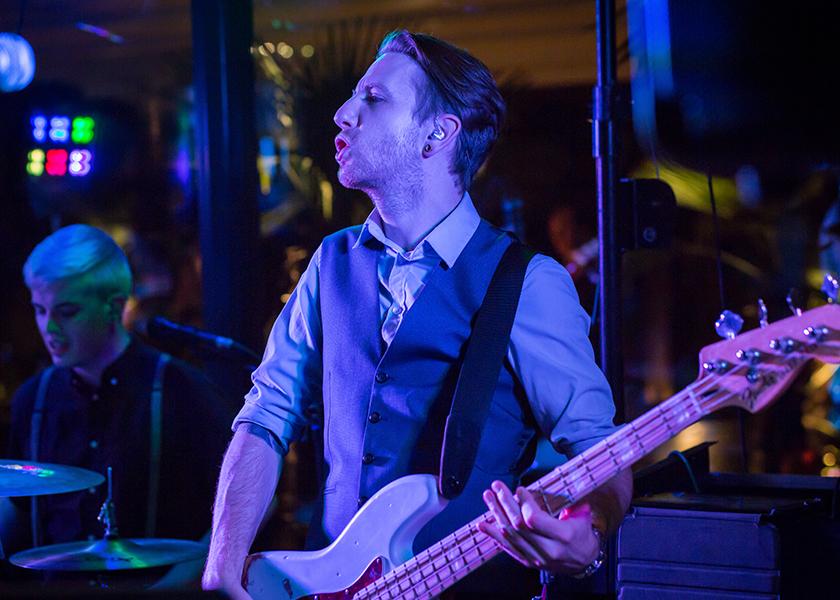 warning tones bassist