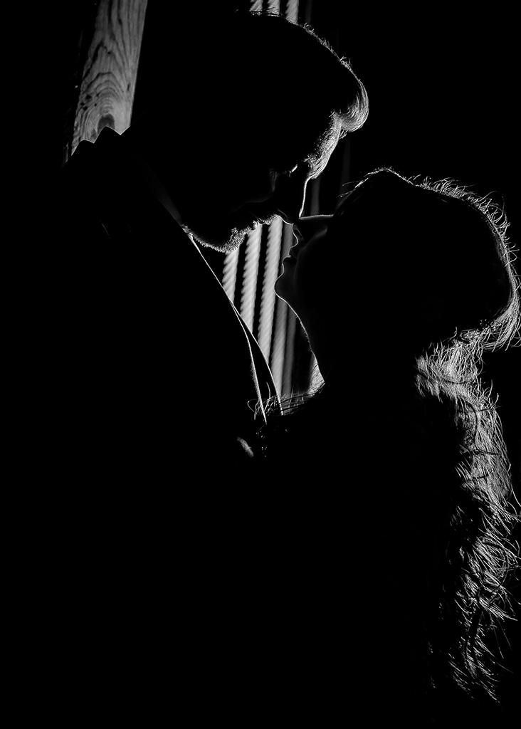 alnwick tree house wedding photo silhouette