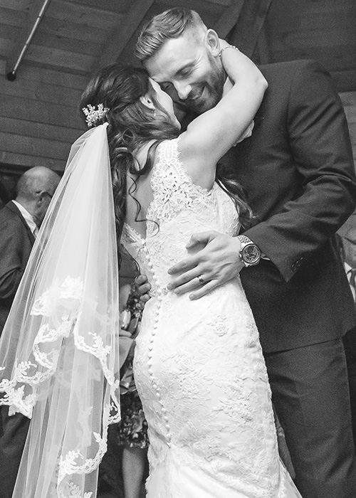 first dance photo alnwick treehouse