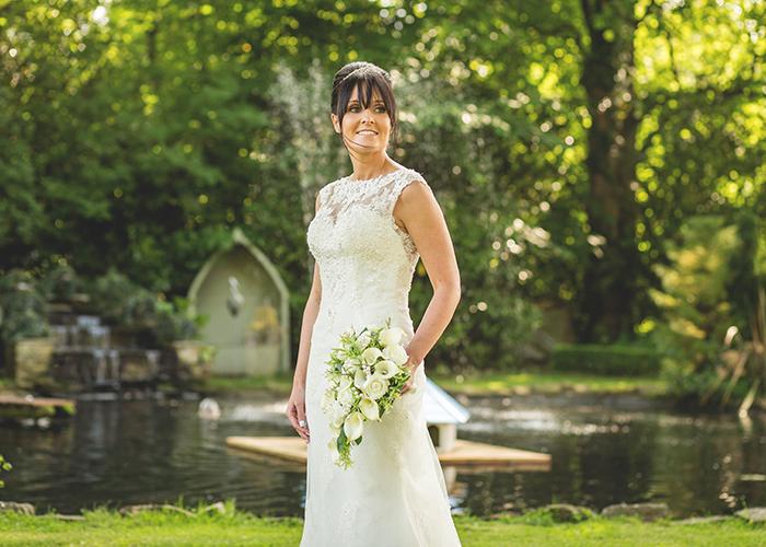 old vicarage castleside bride