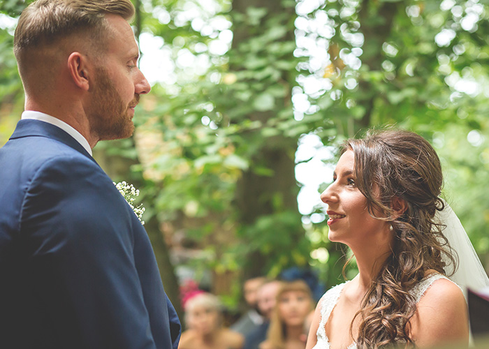 saying marriage vows