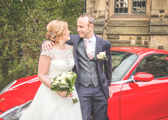 jesmond dene house wedding car