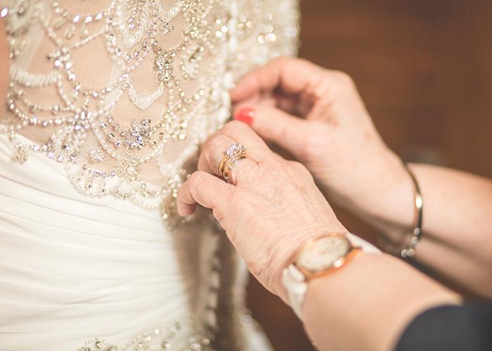 jesmond dene house wedding dress hands