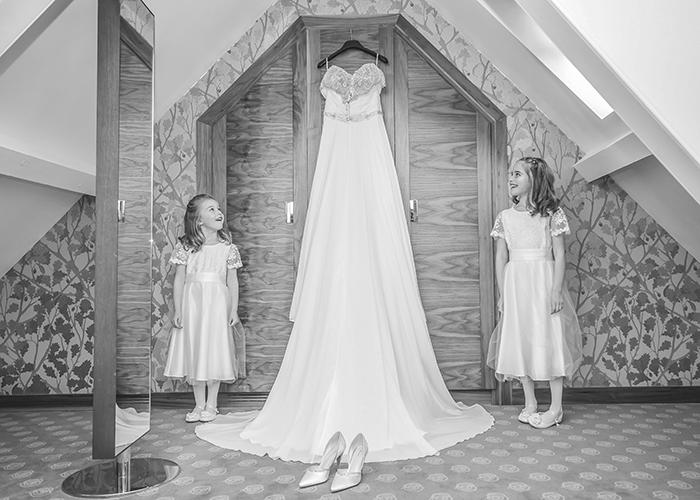 jesmond dene house wedding bridesmaids and dress