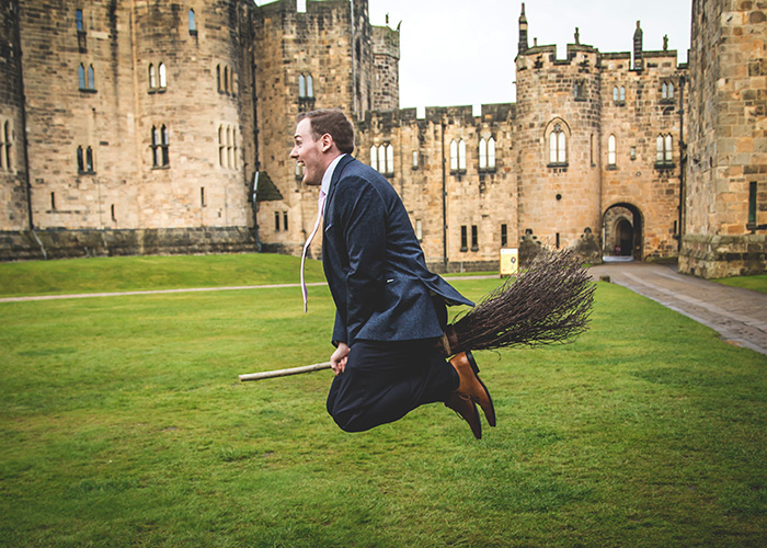 guest flying broomstick