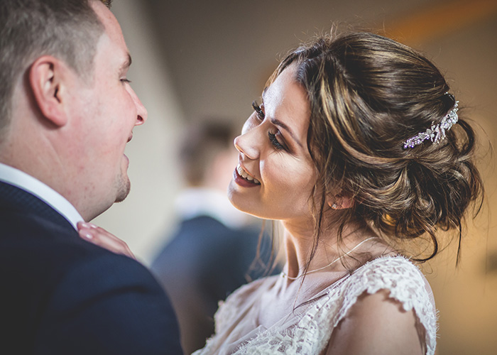 bride and groom shot by wedding photographer based in newcastle